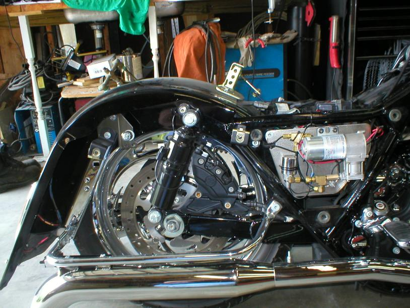 2014 Street Glide Wiring Diagram How Do You Pump Up Your Suspension Quickly Harley