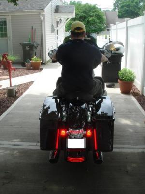 411: Custom Dynamics Plasma Rods install  2012 FLHX  Harley Davidson Forums