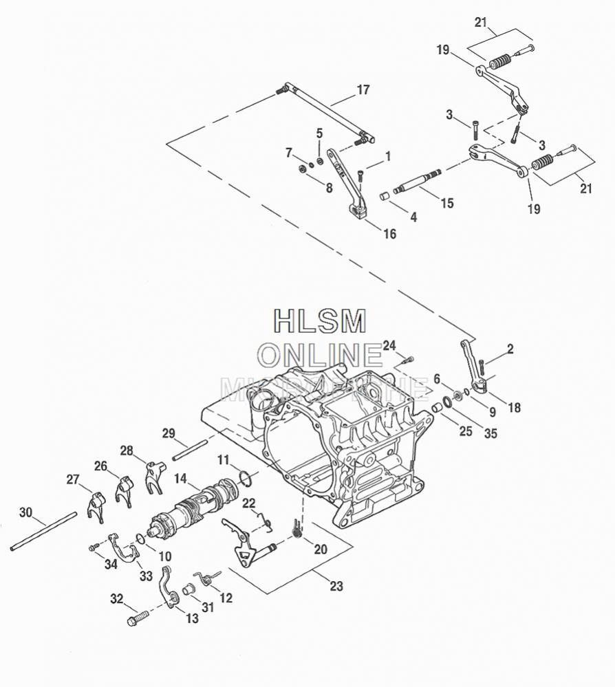 Harley Sportster 1200 Engine Diagram Harley-Davidson