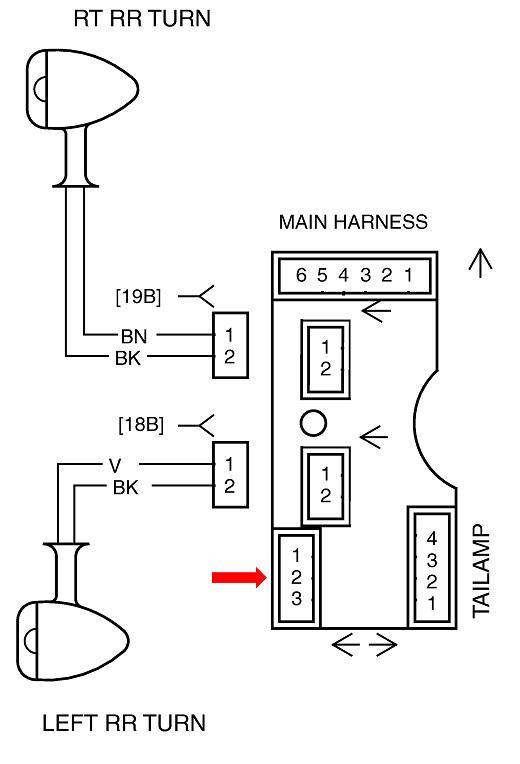 street lighting circuit wiring diagram visual studio 2013 a glide rear fender lights on ultra classic - harley davidson forums