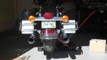 Bung King License Plate Relocation Kit 2018 Harley - Year of