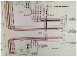 Heated hand grip wiring issue  Harley Davidson Forums