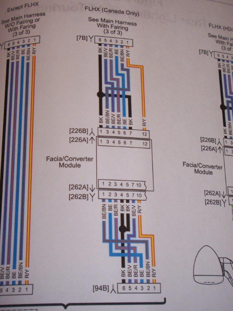Harley Davidson Wiring Harness Diagram Further Radio Wiring Diagram