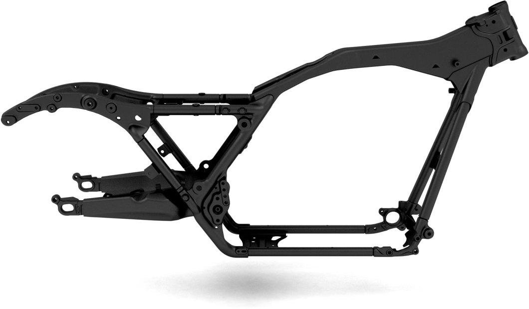 Harley Panhead Frame Blueprint | Siteframes.co