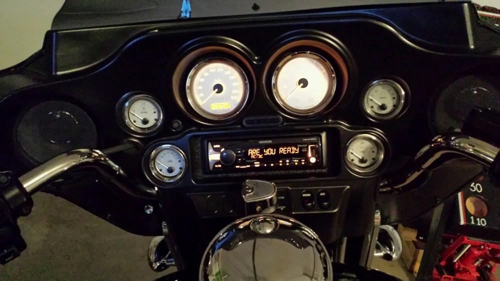 medium resolution of 11 street glide aftermarket radio install kenwood2 jpg