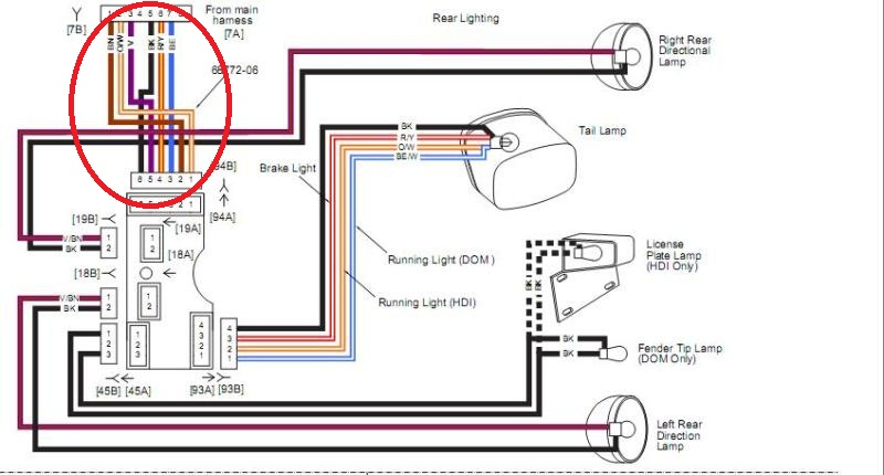 wiring diagram for rear trailer lights 2003 gl1800 tail light ub9 preistastisch de brake harness rh 73 malibustixx converter trailers