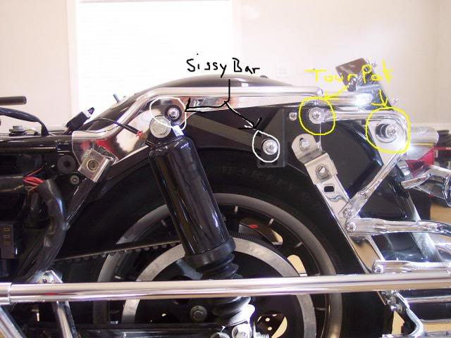 2003 Harley Davidson Ultra Classic Wiring Diagram Conversion Kit Detachable Tour Pak For Electra Glide Flhtc