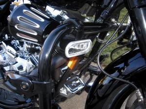 HD Engine Guard Mounted Fog Lights  Harley Davidson Forums