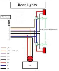 √ 3 Wire Tail Light Wiring Diagram | Headlight And Tail ...  Honda Grom Tail Light Wiring Diagram on