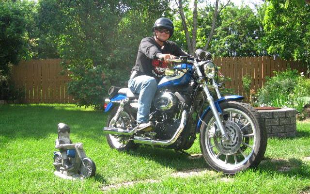 MY RIDE! A 2007 Harley-Davidson Sportster 1200 Roadster