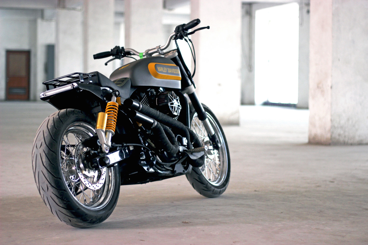 Tj Moto Turns The Street 750 Into The Perfect Scrambler