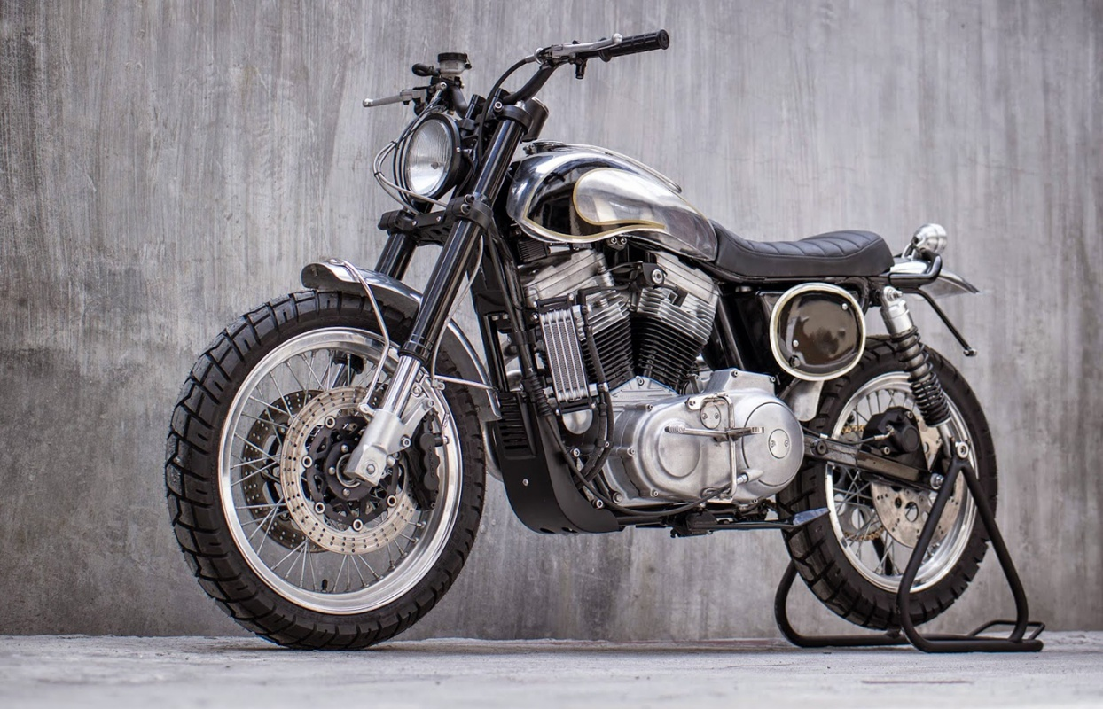 This Harley-Davidson Sportster Got All Scrambled Up - Harley