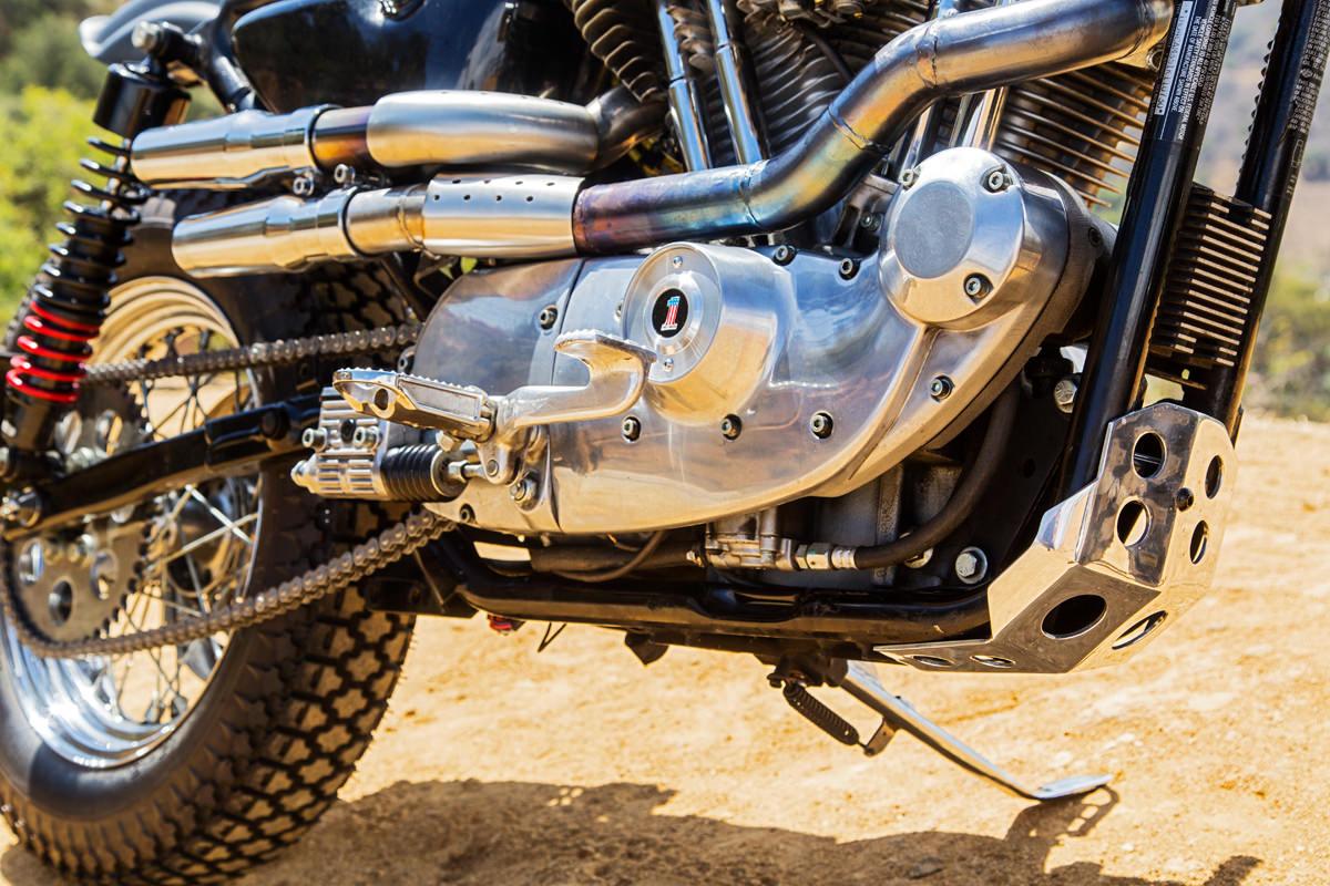 Custom Dirt Track Harley-Davidson Sportster 883 - Harley