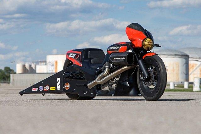 Harley Street Rod Drag Bikes
