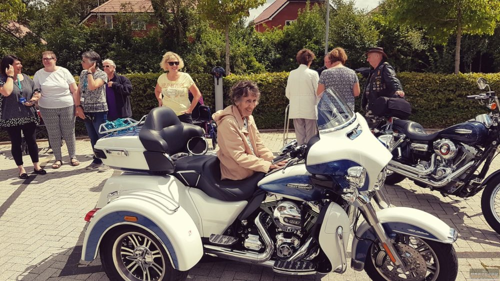 Local Harley-Davidson Group Offers Rides to Hospice Patients