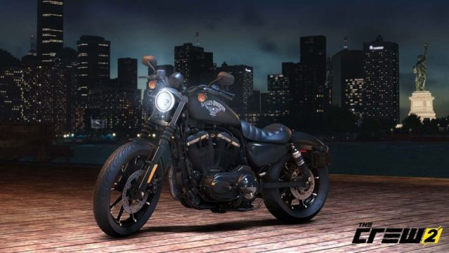 Harley Davidson Featured in The Crew 2 Video Game