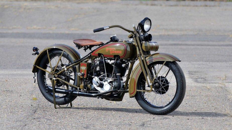 1920s JDH Harley