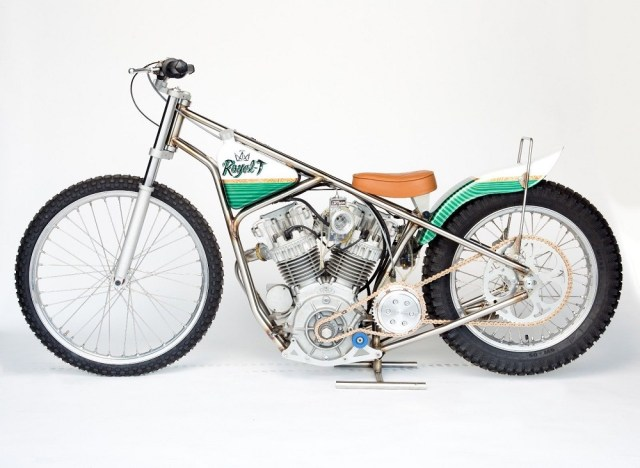 Harley Powered Speedway Style Motorcycle