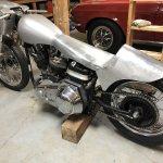 Crazy Shovel Bobber Build Is Intoxicating Harley Davidson Forums