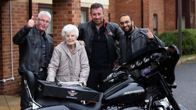 100th-birthday-Gateshead-Harley-Davidson