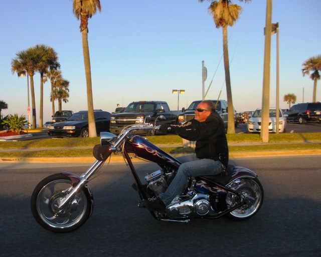 American Ironhorse Chopper