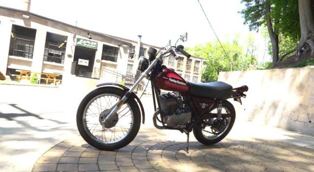 1976 Harley AMF SS175