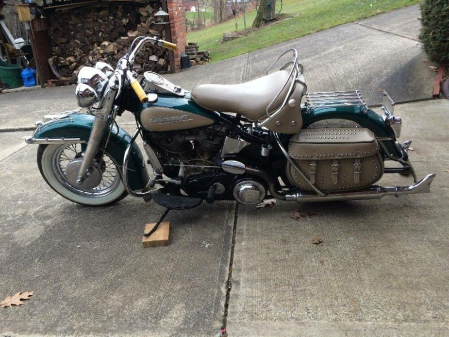 Classic 1952 Panhead Found on Craigslist - Harley Davidson ...