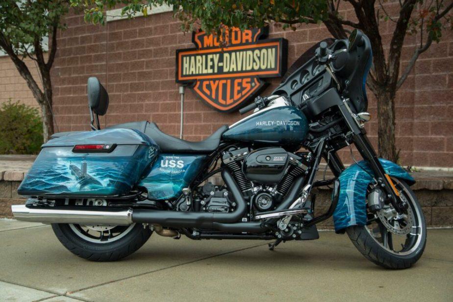 Ride Alongside USS South Dakota Tribute Harley, July 14 & 15