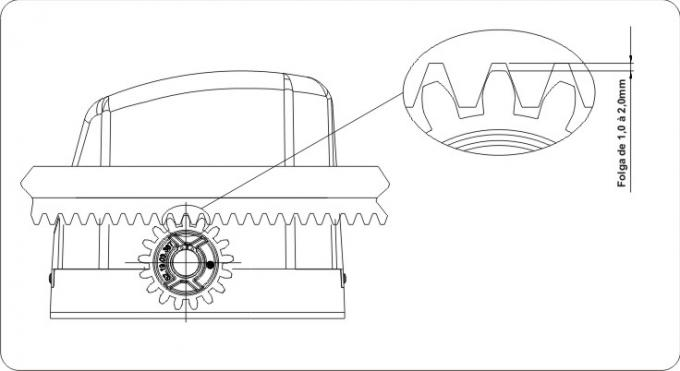 Motor NXT-SI 1/3CV 220V c/ Central 1F NXT, 2 Rádios e