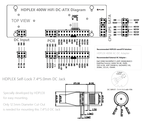 small resolution of hdplex 300w hifi dc atx diagram discontinued