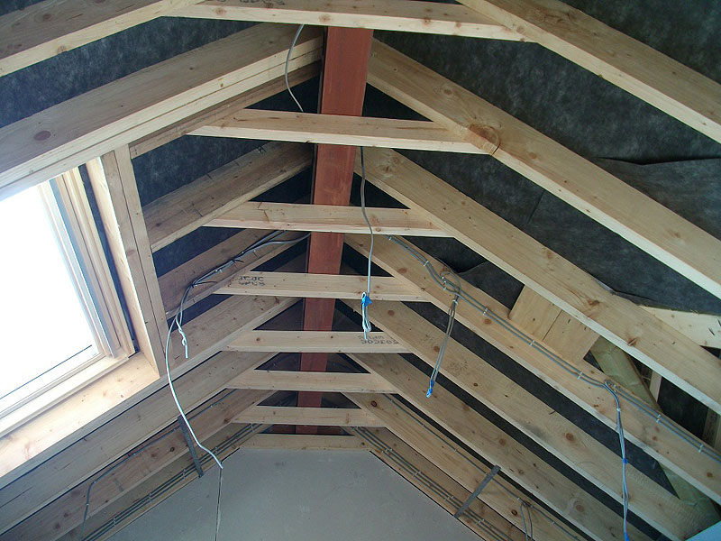 how to add insulation to vaulted ceiling