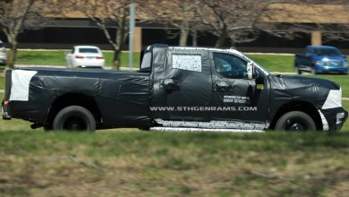 Photo of New Ram Heavy Duties Caught Testing Again: