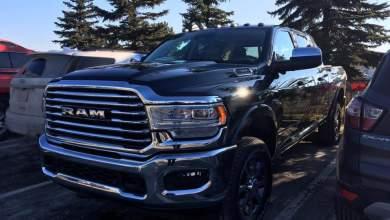 Photo of CAUGHT: 2019 Ram 2500 Heavy Duty Laramie Longhorn Mega Cab: