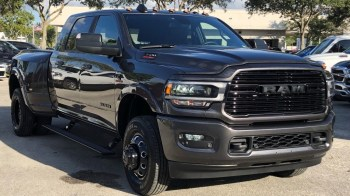 2020 Ram 3500 Laramie Mega Cab 4x4 Night Edition. (University Dodge).