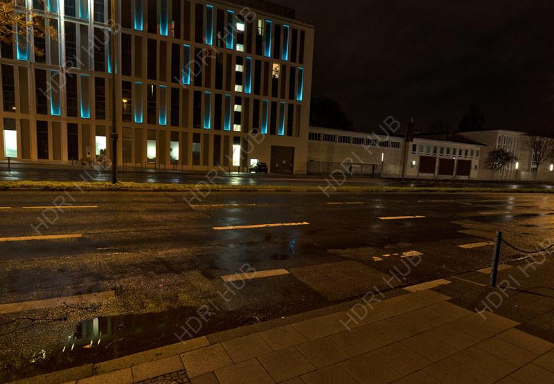 HDRI Hub  HDR City Road Night Lights free