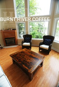 Beautiful Reclaimed Wood Coffee Table in Burnt River ...