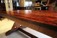 Reclaimed Wood Kitchen Table Dundas Ontario (5) | Blog