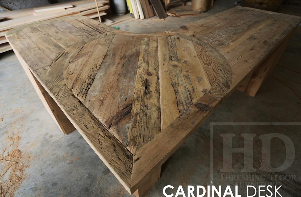 Custom Reclaimed Wood Desk in Cornwall  Blog
