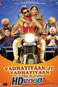 Vadhayiyaan Ji Vadhayiyaan 2018 in HD Punjabi Full Movie