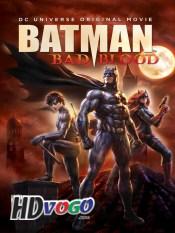 Batman Bad Blood 2016 in HD English Full Movie
