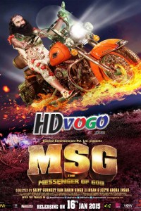 MSG The Messenger Of God 2015 in HD Hindi Full Movie