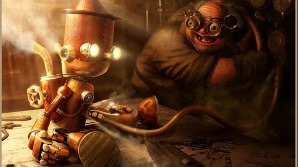 Steampunk Pinocchio