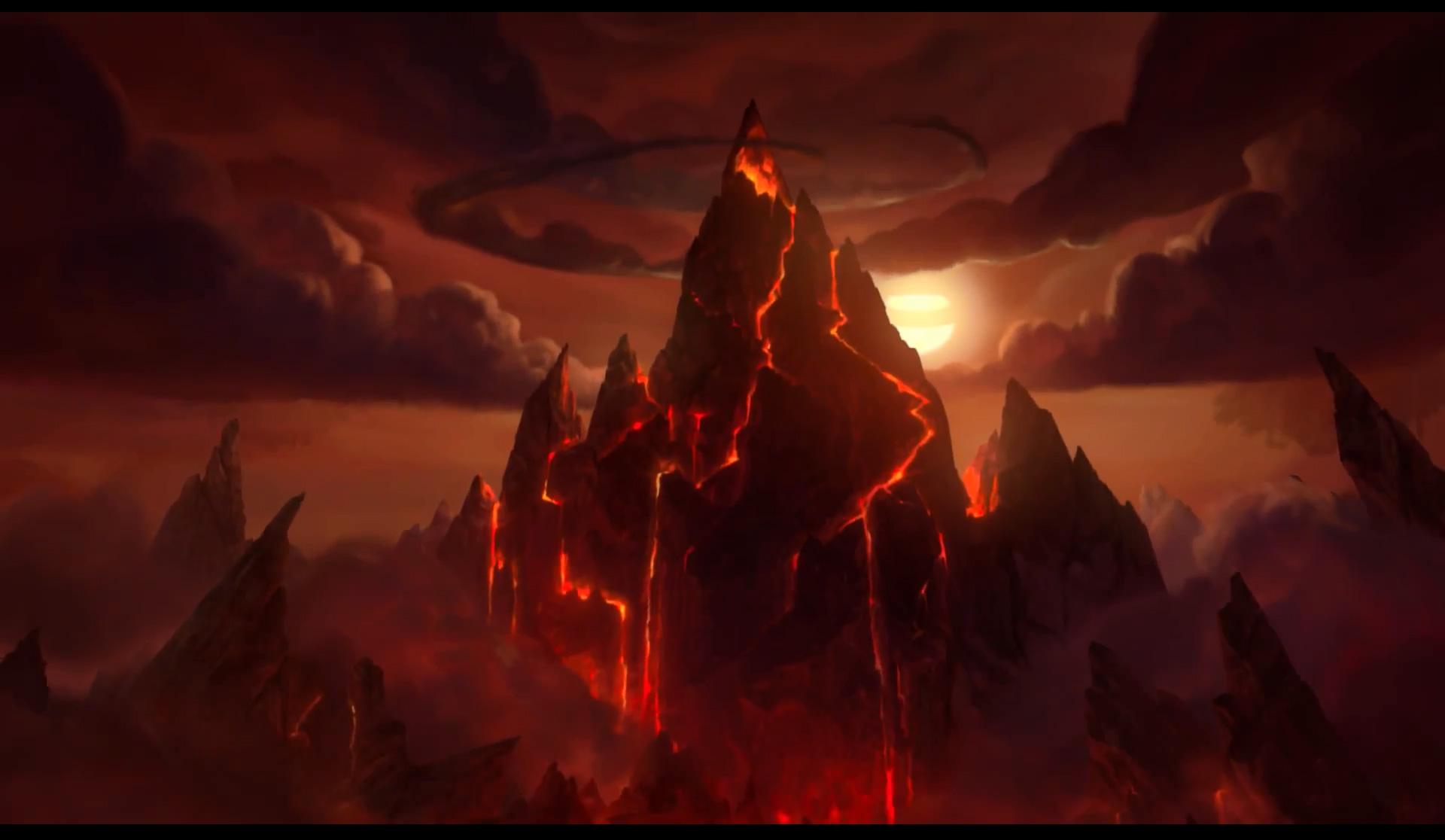 World Of Warcraft Wallpapers Hd Blackrock Mountain A Hearthstone Adventure Wallpapers