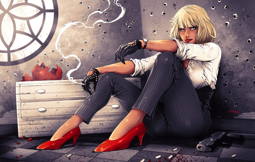 Anime Girl Full Body Wallpaper Atomic Blonde Wallpapers Pictures Images