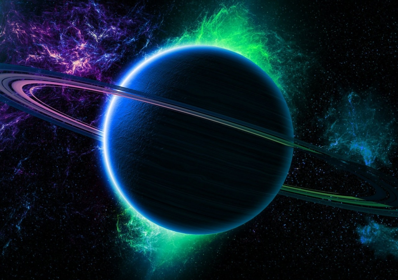 Outer Space Iphone Wallpaper Hd Planet Saturn From Space Hd Wallpaper Download
