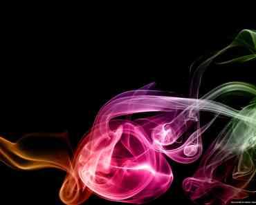 Rainbow Smoke Art 7