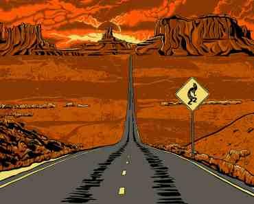 Monument Valley Arizona Illustration