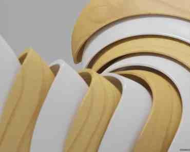 Wood & White Shapes 1