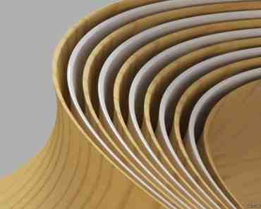 Wood & White Shapes 3