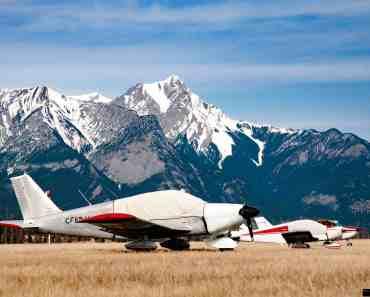 Sleeping Canadian Airplanes